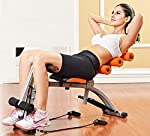 Sampri 6 Pack Abs Exerciser Machine with 20 Different Modes for Exercise and Fitness