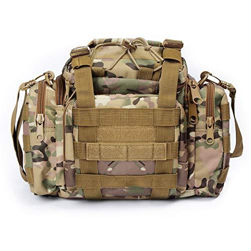 Dienstprogramm Tactical Hüfttasche Militär Molle Angriffs-Pouch Trekking Wandern Bum Gesäßtasche Ruck Sack Tragetaschen -