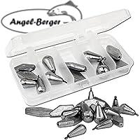 Angel-Berger Bleisortiment mit Box gemischt