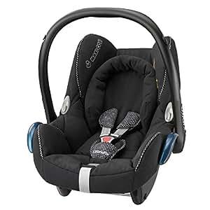 Maxi-Cosi 61708721 Cabriofix Kindersitz Gruppe 0+ (bis 13 kg), digital black