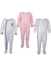 Teddy's Choice 100% Cotton Multi color 3 Combo Kid's Romper :Modle-020