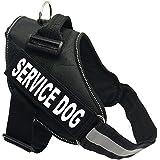 Treat Me Arnes Perro Acolchada Cómodo Ajustable de Nylon Correa Control Seguridad para Perro Gato Mascota ,6 Tamaño para elegir