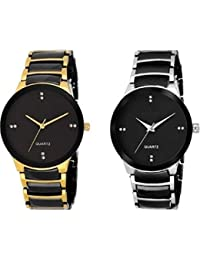 Talgo New Arrival Special Collection Black Bid Round Dial Black-Gold , Black-Silver Metal Belt Party Wedding |...