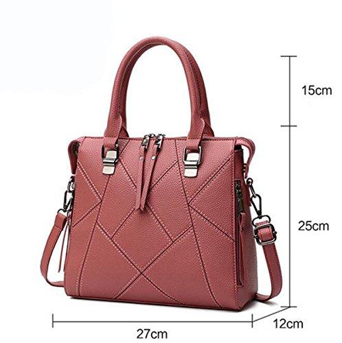 Art Und Weise Temperamentatmosphäre Einfache Freizeit Wilde Schulterbeutel Kurierbeutelhandtaschenhandtaschen Red1