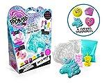 SO BOMB Canal Toys 011-LOISIRS CREATIFS ASST Bath Bomb KIT-Licorne CŒUR Diamant, BBD 011, Bleu, Rose