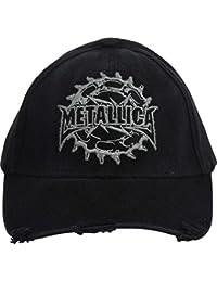 Metallica - - Casquette de baseball pignon In Black