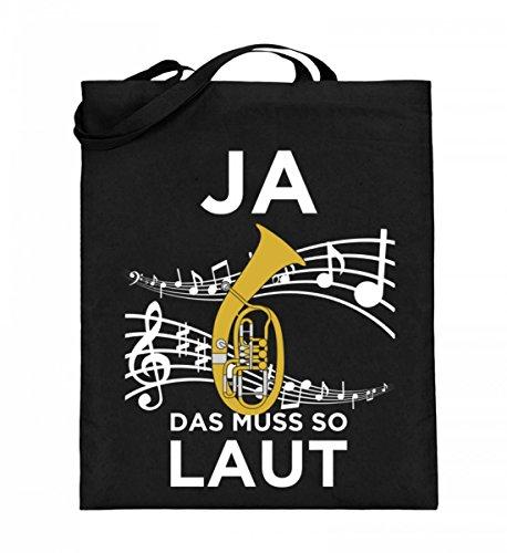 Chorchester Hochwertiger Jutebeutel (mit langen Henkeln) - Für alle, die Tenorhorn lieben!