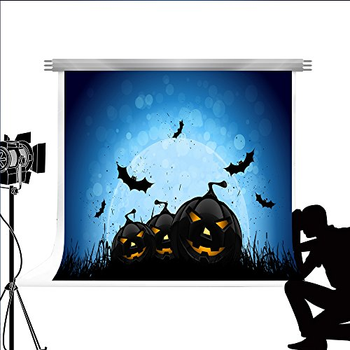 se für Fotografie Kürbis Laterne Photocall Hintergrund für Kinder Party Fond Studio Fotos 7x5ft (Halloween-party-foto-kulisse)