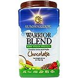 SUN WARRIOR WARRIOR BLEND RAW PROTEIN 2.2 LBS- CHOCOLATE FLAVOUR