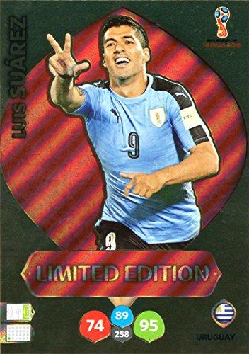c2793b1618 Adrenalyn XL FIFA World Cup 2018 Rusia – Luis Suárez tarjeta de comercio de  edición limitada