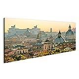 islandburner Bild Bilder auf Leinwand Stadt Aufnahme von Rom Poster, Leinwandbild, Wandbilder