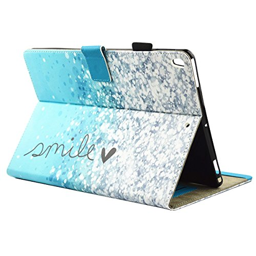 iPad IPad pro 10.5 Custodia per IPAD iPad pro 10.5 inch, inShang Smart Cover case in pelle PU, supporto per tenere L'iPad sollevato, magnetico per sleep e standby bubble