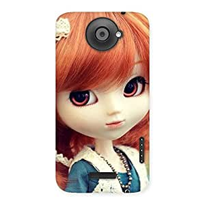 Gorgeous Tiny Baby Girl Multicolor Back Case Cover for HTC One X