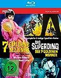 7 goldene Männer + Das Superding der 7 goldenen Männer / Die komplette mit dem Prädikat WERTVOLL ausgezeichnete 2-teilige Spielfilmreihe in brillianter HD-Qualität (Pidax Film-Klassiker) [Blu-ray]
