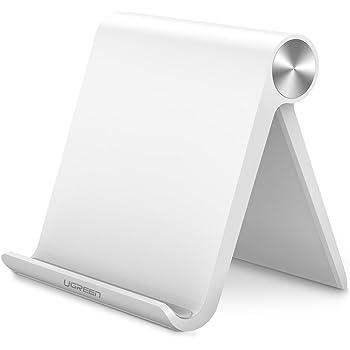UGREEN Tablet Stand, Multi Angle Adjustable iPad Stand Desk Tablet Holder for Apple iPad Pro 10.5/9.7, iPad mini 4 3 2, iPad Air/Air 2, Nintendo Switch, S Tab, Fire Tablets, etc (White)