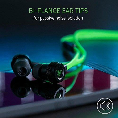 Razer Hammerhead USB-C Gaming In-Ear Kopfhörer (mit USB-C Anschluss, geeignet für das Razer Phone) grün - 5