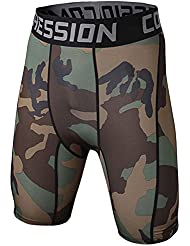 Short De Compression - Pantalon De Camouflage - Thermique Tight Pants Homme