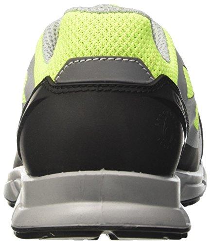 Diadora Herren Zx Flux Sneaker Low Hals Rot (Giallo Fluo/grigio)