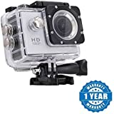 DrumStone Plastic and Metal 1080p Sports Camera and Micro SD Card Slot Outdoor Action Video compatible with All Android (Colour May Vary)