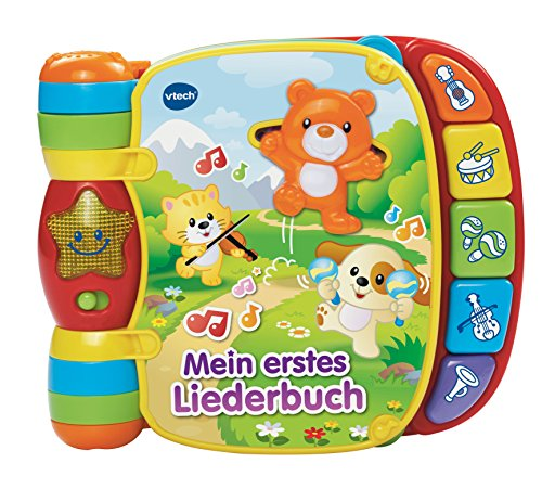 VTech Baby 80-166704 - Babyspielzeug - Mein erstes Liederbuch (9 Baby-bücher Monate)
