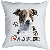 Spa/ß Grillsch/ürze Kochsch/ürze Weihnachten Advent Nikolaus K/üche Winter Motiv Jack Russel Terrier bedruckte Fun Koch Sch/ürze