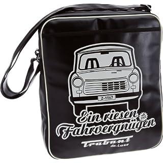 Logoshirt Trabant (PKW), Umhängetasche–Schwarz, Synthetisch, Schwarz - schwarz - Größe: Taille unique