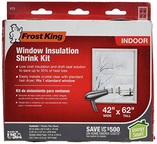 Frost King Shrink Film Window Kit-SHRINK FILM WINDOW KIT