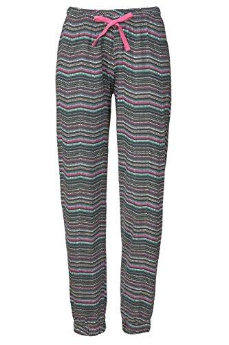 Lascana Pyjama Unterteile Sweet Dreams, schwarz-mehrfarbig, 36-38