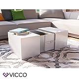 VICCO-Couchtisch-LED-Wei-Hochglanz-Loungetisch-Wohnzimmer-Tisch-Sofa-Couch-modern-edles-Acryl-Dekor