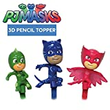 PJ MASKS Set 3 Mini FIGURES 6cm PENCIL TOPPERS or Cake Topper OWLETTE CATBOY GEKKO Original
