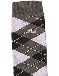 Equi-thème calcetines Equitation Diamond, Brun/rose