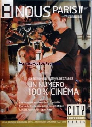 A NOUS PARIS [No 354] du 14/05/2007 - FESTIVAL DE CANNES - MARIA DE MEDEIROS - COTE D'AZUR - CAP SUR LE 7EME ART