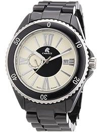 Carucci Watches Herren-Armbanduhr XL Analog Automatik Keramik CA7112BK