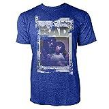 Paul Sinus Art Warhol is Bad Herren T-Shirts Stilvolles Blaues Cooles Fun Shirt mit Tollen Aufdruck