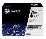 HP C4096A - Cartucho de tóner original LaserJet HP 96A negro, el envase puede variar