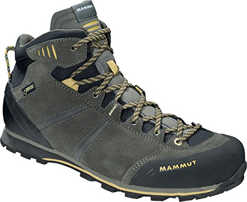 Mammut Wall Guide Mid GTX Men Größe UK 9,5 bark-tuff