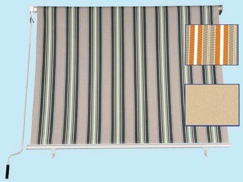 Tenda da sole a caduta misure 300x250h cm colore beige - tessuto 280gr/mq