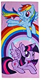 Offizielles Badetuch My Little Pony Party Beach Handtuch, Baumwolle, Rainbow Dash