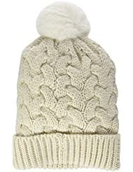 O 'Neill Women's Nora BW Alpaca Wool Mix Beanie Headwear, Womens, Bw nora wool alpaca mix beanie