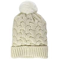 O 'Neill BW Nora Lana Alpaca Mix Beanie Headwear, Otoño-Invierno, Mujer, Color Abedul, tamaño 0