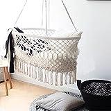 Here&There Baby Wiege Aufhängen Bette Hängematte Wiegen Babywiege Kinderbett Quaste Brasil Comfort Gitterbett Miansheng Webart (B#)