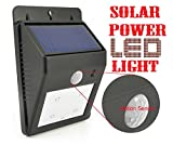 #3: Magnusdeal® Motion -Activated Solar Power LED Light, Outdoor Led motion Activated super bright,motion sensor light, Solar Light Led Street Inbuilt Waterproof Outdoor Motion Activate Ever Brite