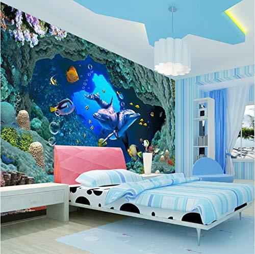 Fototapete 3D Foto Unterwasser Multimedia Welt Kinderzimmer Wohnzimmer Sofa Tv Hintergrund Abdeckrolle Selbstklebende Design 208 Cm * 146 Cm