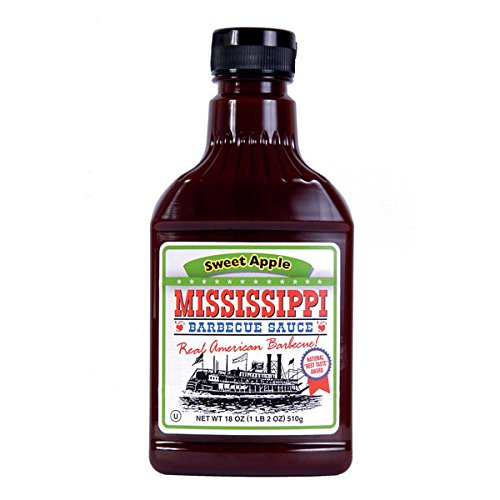 Mississippi BBQ Sauce Sweet Apple 510g