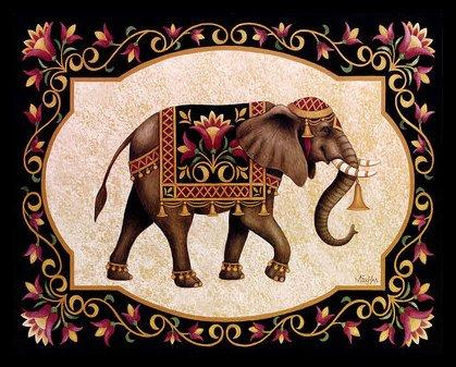 stephanie-stouffer-indian-excursion-poster-bild-kunstdruck-im-alu-rahmen-in-schwarz-40x50cm
