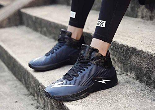 Hommes Chaussures De Basket-ball 2017 Automne Mode Casual Chaussures Respirant Chaussures De Sport Noir