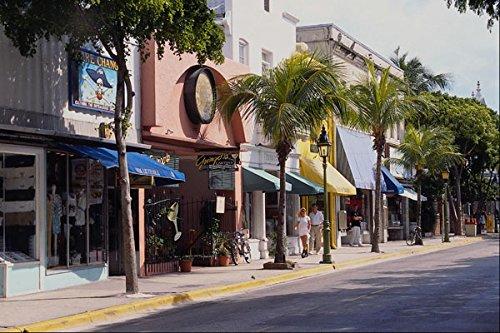 562050 Duval Street Key West A4 Photo Poster Print 10x8