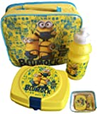 Official Licensed Minions I Don't Give A Blumock Lunch Bag Bottle Snack Box Set