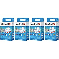 Medrull 40 Stück Kinder Pflaster Sensitiv MARINE 4 Boxen preisvergleich bei billige-tabletten.eu