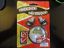 Trick Dice Set Of Four (2 Regular + 2 Trick) Always Roll A 7 Or 11